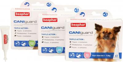 CANIguard Line-on - antiparasitaire perméthrine pour chien