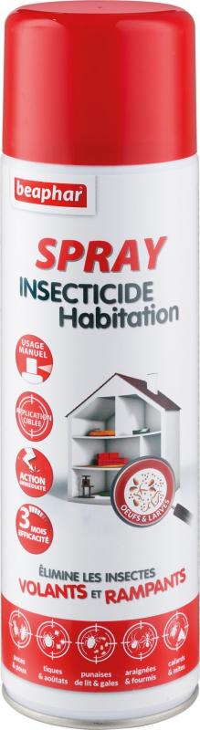Spray insecticida doméstico - tratamento local da habitação