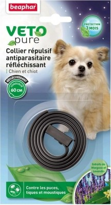 Collar insecticida reflectante para perro - Vetonature