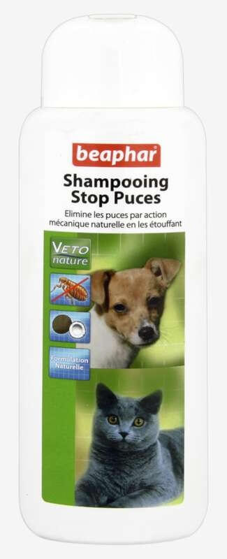 shampoo floh stopp f r hunde und katzen vetopure 250ml anti parasiten shampoos. Black Bedroom Furniture Sets. Home Design Ideas