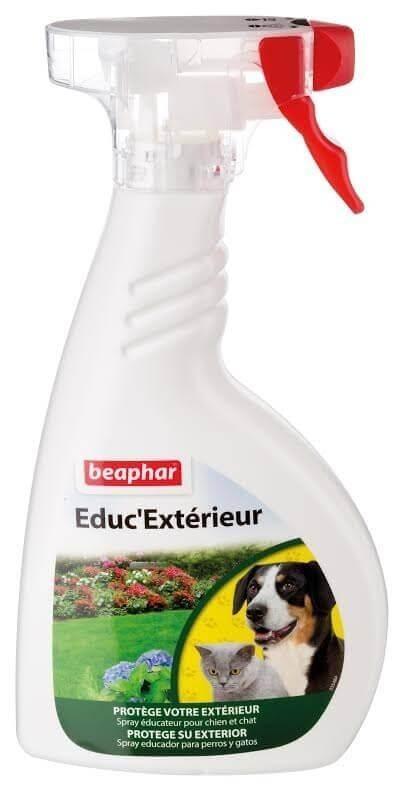 Repul'Extérieur - Pulverizador repelente de exteriores para perros y gatos