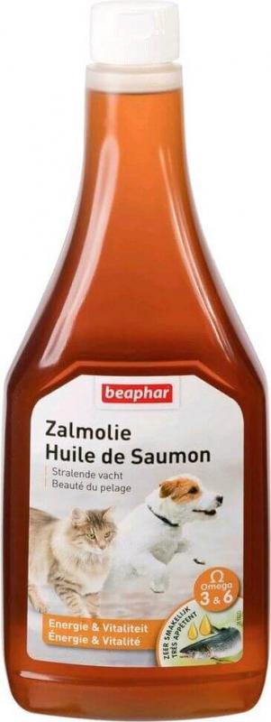 Lachsöl - Nahrungsergänzungsmittel für Hunde