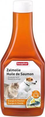 Huile de saumon BEAPHAR complément alimentaire pour chien