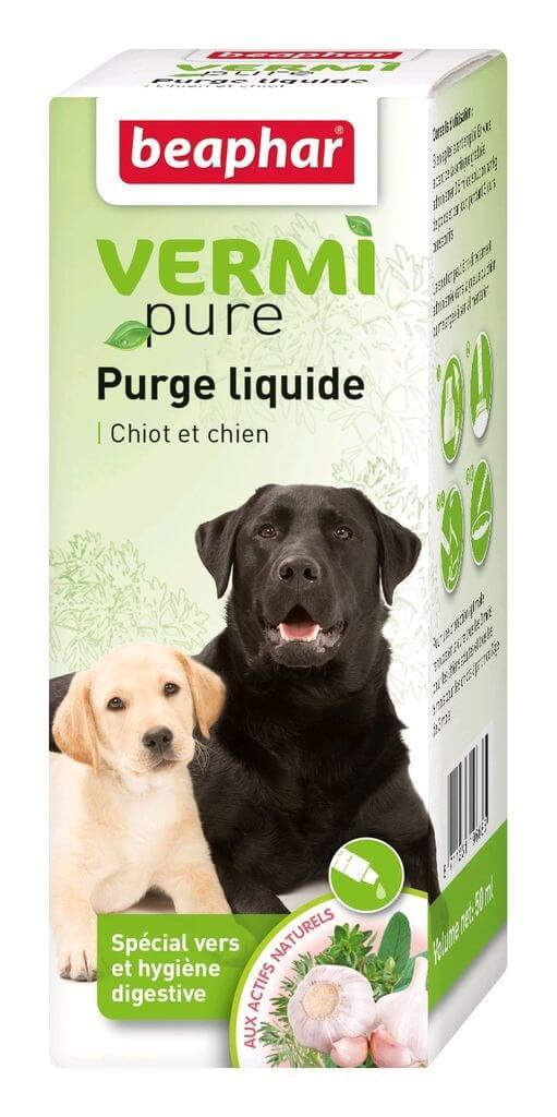 Soluci N Purgante A Base De Plantas Para Perros Vetonature