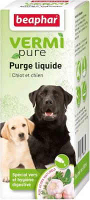 Solution purge aux plantes pour chien VERMIpure
