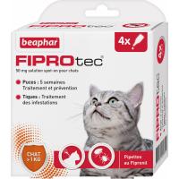 FIPROtec Solução spot-on para gatos com Fipronil