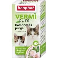 Comprimés purge aux plantes pour chat VERMIpure