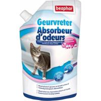Granulés absorbeurs d'odeurs pour litière