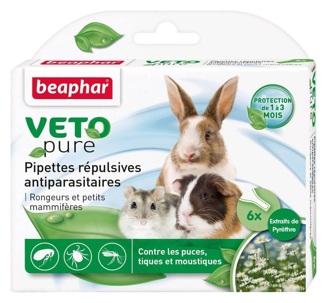 Beaphar Flea and Tick Drops for Small Mammals_1