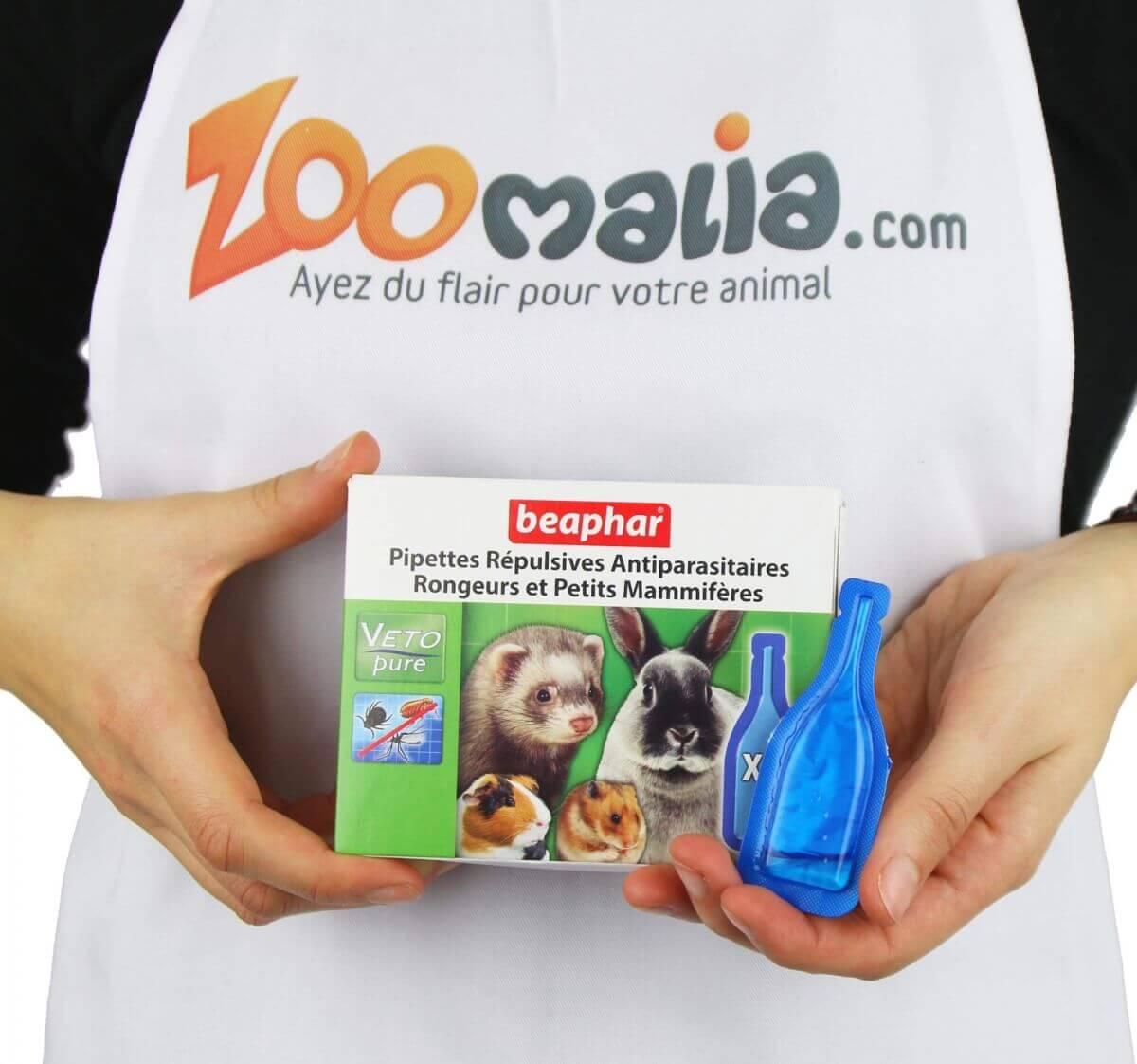 Pipettes répulsives antiparasitaires rongeurs et petits mammifères_2