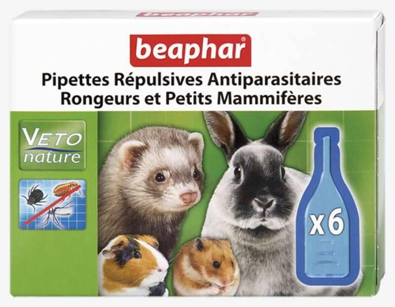 Pipettes répulsives antiparasitaires rongeurs et petits mammifères_1
