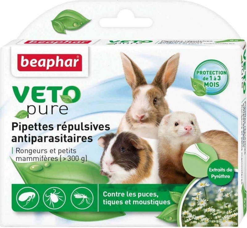 Beaphar Flea and Tick Drops for Small Mammals