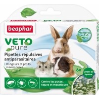Pipettes répulsives antiparasitaires rongeurs et petits mammifères
