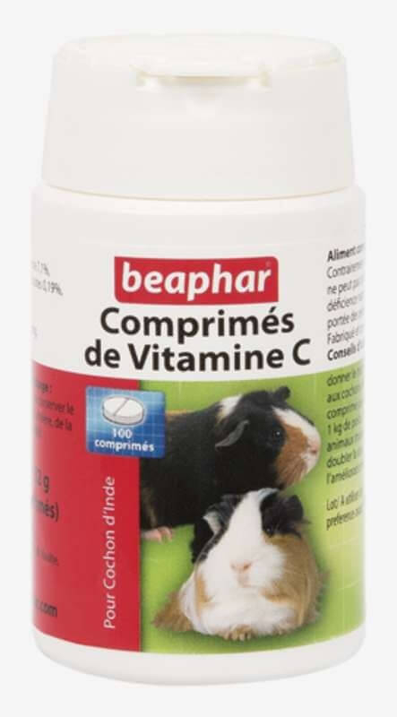 Comprimés de vitamines C pour cochon d'inde - Friandise