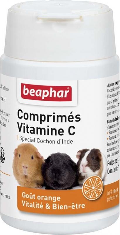 Beaphar Vitamin C Tabletten für Meerschweinchen