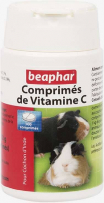 Comprimés de vitamines C pour cochon d'inde