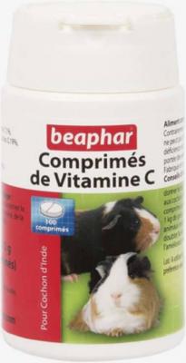 Comprimidos de vitamina C para conejillo de India