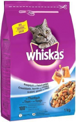 Pienso  Whiskas para gatos adultos ( Dental plus) Atún