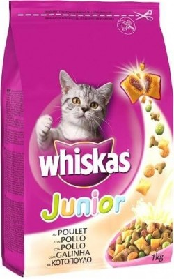 Pienso Whiskas Junior con Pollo