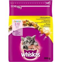 Croquettes Whiskas Junior au Poulet pour chaton