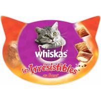 Friandises Les Irrésistibles de Whiskas au Boeuf pour Chat adulte