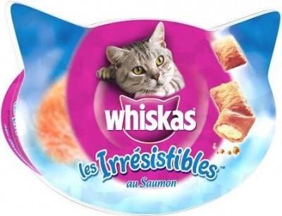 Los irresistibles de Whiskas con Salmón 50 gr - Golosinas para gatos