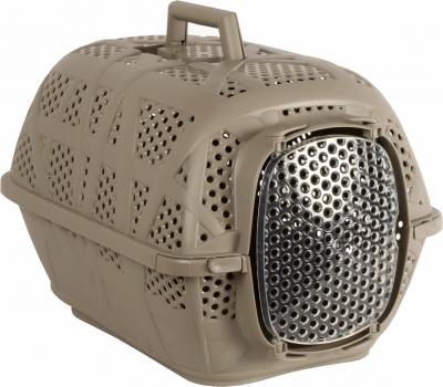 Caisse de transport Carry Sport taupe pour chien et chat