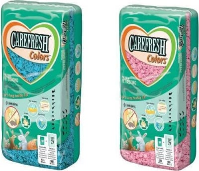 Lecho CAREFRESH Colors 10L  rosa o azul