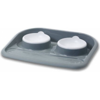 BUTLER Twin Bowls and Tray