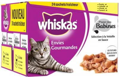Delicias del Gourmet, Whiskas, 4 sabores