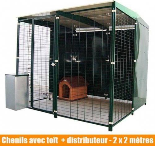 chenil modulable pour particuliers et professionnels chenil pour chien. Black Bedroom Furniture Sets. Home Design Ideas