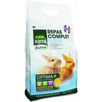 Repas premium OPTIMA+ toy et jeune lapin 2.5kg