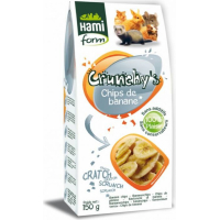 Chips de Banane pour rongeur CRUNCHY'S