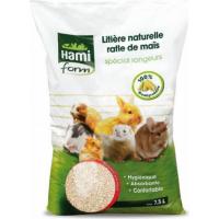 Einstreu mit natürlichem Mais