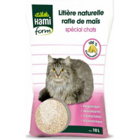 Litière de maïs 10L Nature - chat