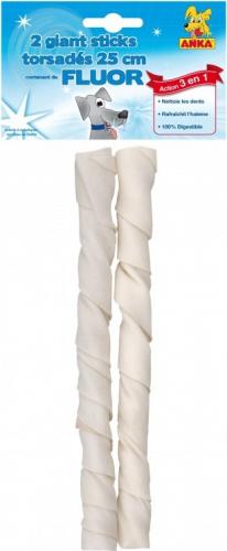 Giant Sticks Torsadés FLUOR 25 cm sachet de 2 pièces