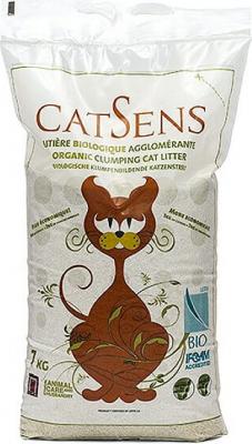Litière certifiée biologique CATSENS 7kg