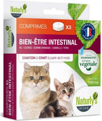 Comprimés vermifuges chatons et chats (aux plantes)