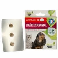Comprimidos  para desparasitar (a base de plantas) perros pequeños y gatos