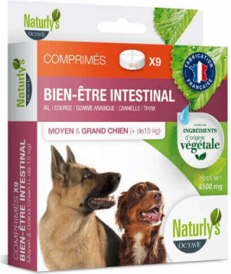 Naturly's Plant Based Worming Tablets for Medium and Large Dogs