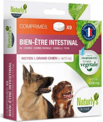 Comprimidos larvicida ovicida para perros medianos y grandes (a base de plantas)