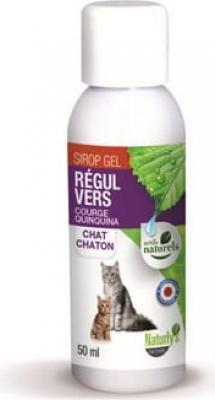 Jarabe Régul  contra parásitos internos  para gatos y gatitos