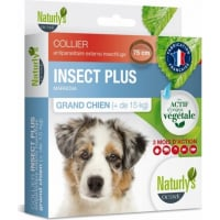 Collier INSECT'PLUS Antiparasitaire insectifuge pour grand chien