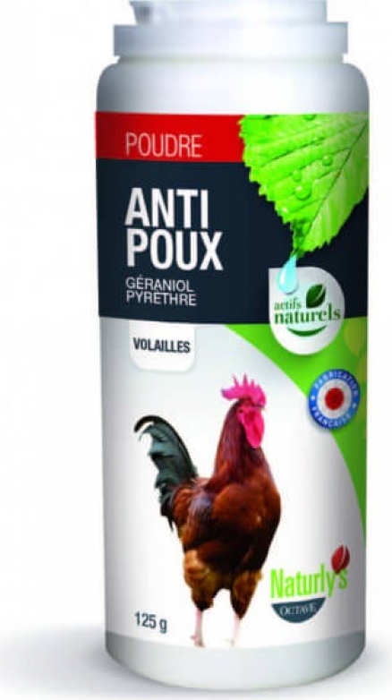 Poudre aviaire antiparasitaires insecticides