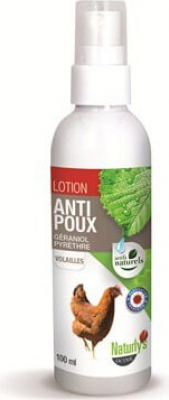 Lotion stop poux choc antiparasitaires insecticides