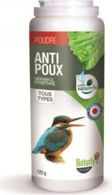 Poudre antiparasitaires insecticides pour oiseaux