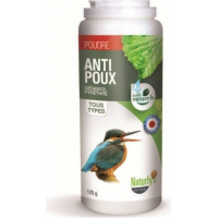 Polvo antiparasitario insecticidas para pájaros