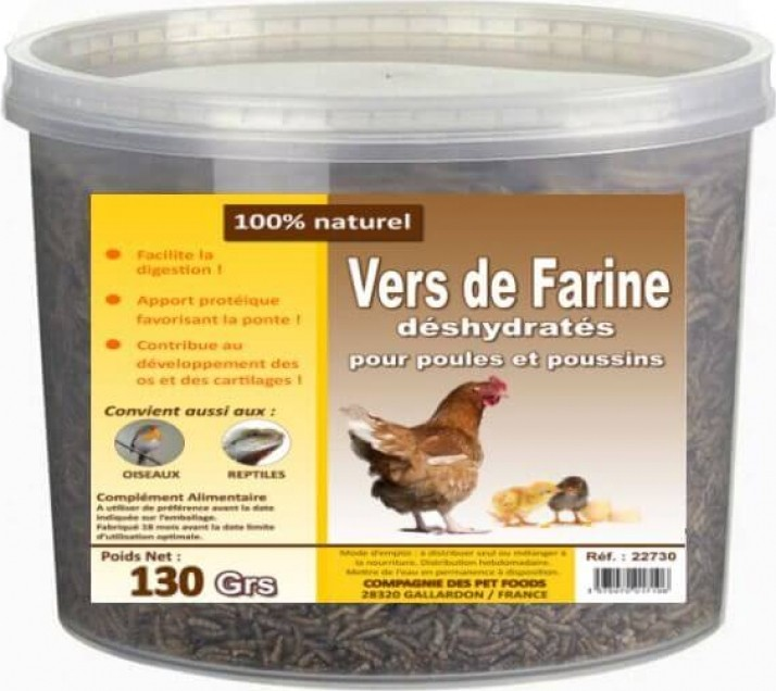 Dried Mealworms for Poultry