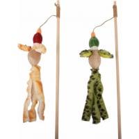 Spielzeugangel mit Zugvogel