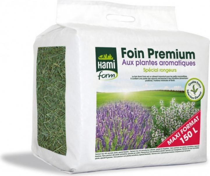 Heno premium Hamiform de plantas aromáticas 150L